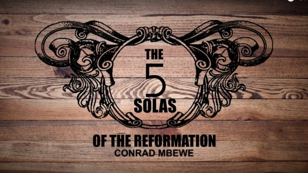 The 5 Solas of the Reformation